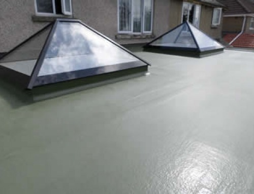 Pyramid Window on GRP Flat Roof