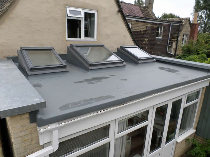 GRP roof windows by Four Seasons Roofing