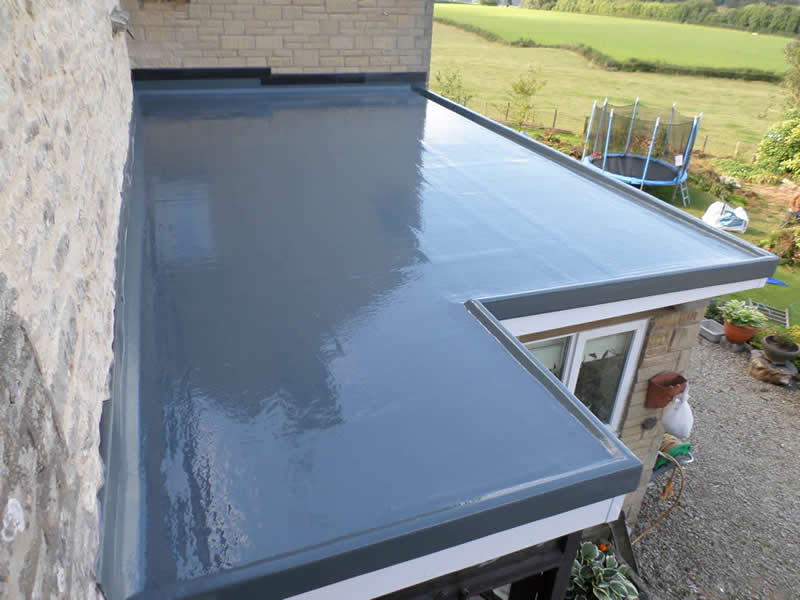House Extension GRP Roofing by Four Seasons Roofing