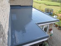 house extension GRP roof