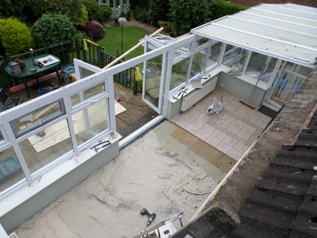 Conservatory roof windows