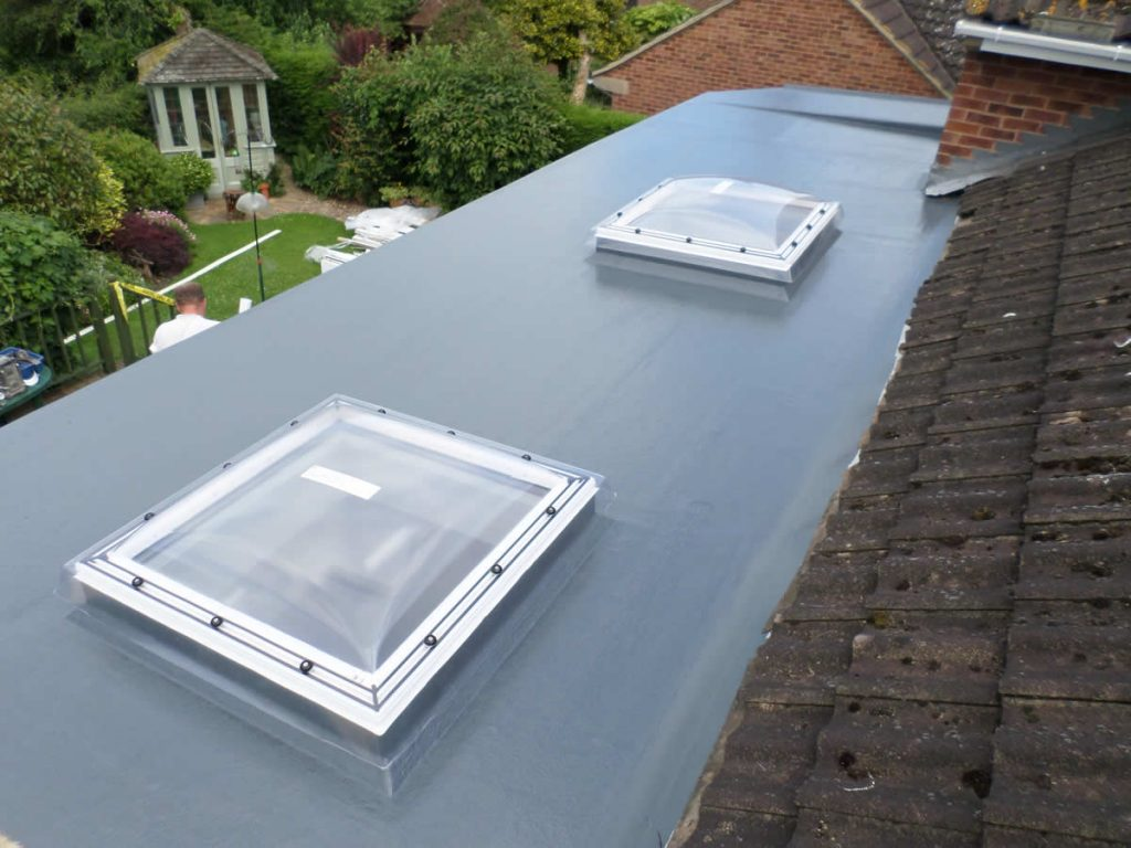 new grp roof windows for Conservatory