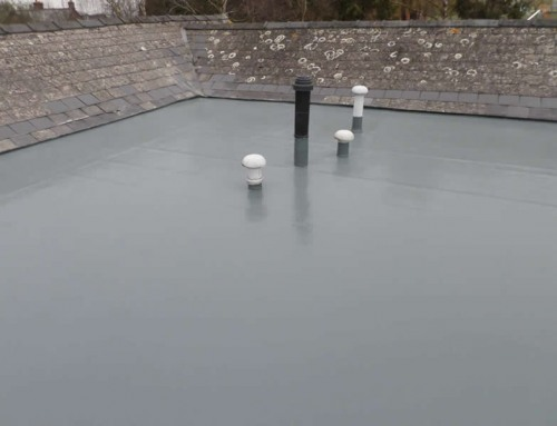 GRP Roofing around Vents / Chimneys